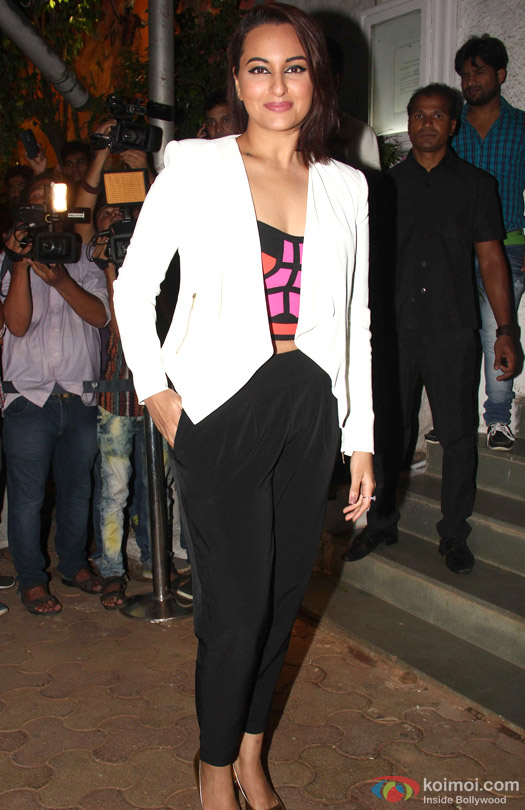 Sonakshi Sinha during the 'ABCD 2′ Success Bash