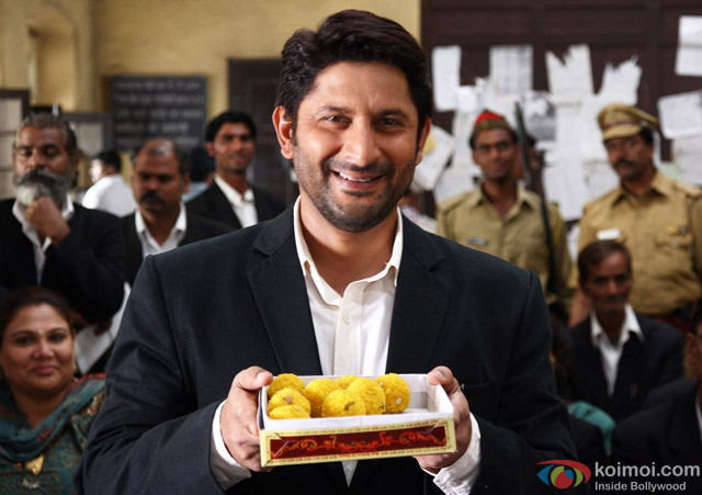 Arshad Warsi in a still from movie 'Jolly LLB'