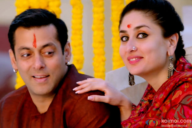 Salman Khan and Kareena Kapoor Khan in a still from movie 'Bajrangi Bhaijaan'