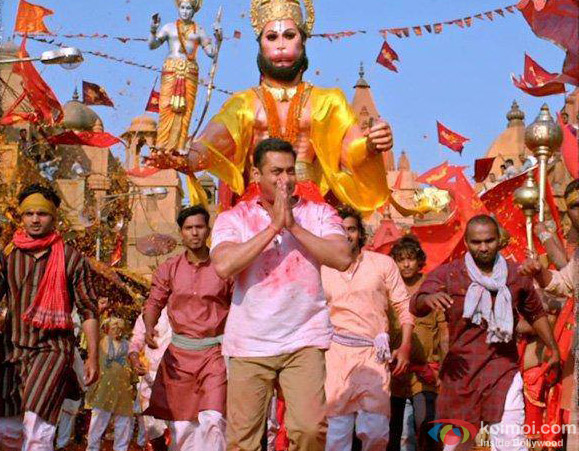 Salman Khan in a still from movie 'Bajrangi Bhaijaan'