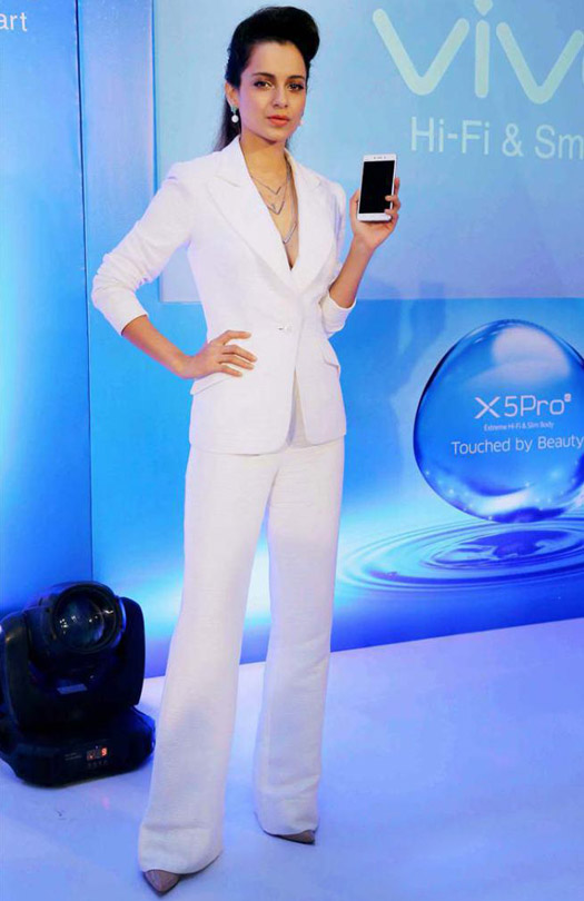 White Knight : Kangana Ranaut In Theia Couture Suit