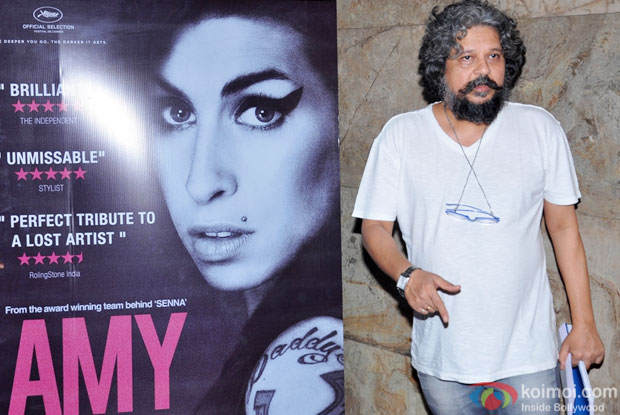 Amol Gupte during the Amy premiere in India