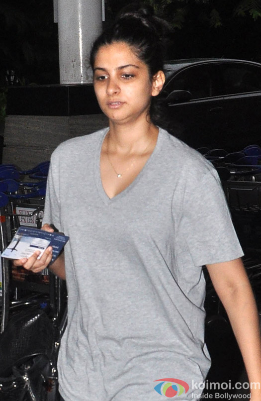 Rhea Kapoor spotted at the airport