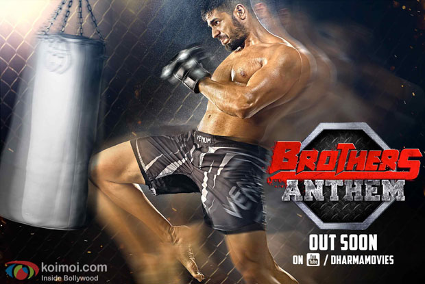 Sidharth Malhotra in a still from 'Brother' movie poster