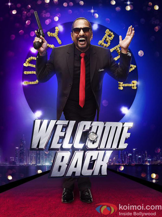 Nana Patekar in a still from 'Welcome Back' movie poster