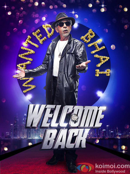 Naseeruddin Shah in a still from 'Welcome Back' movie poster