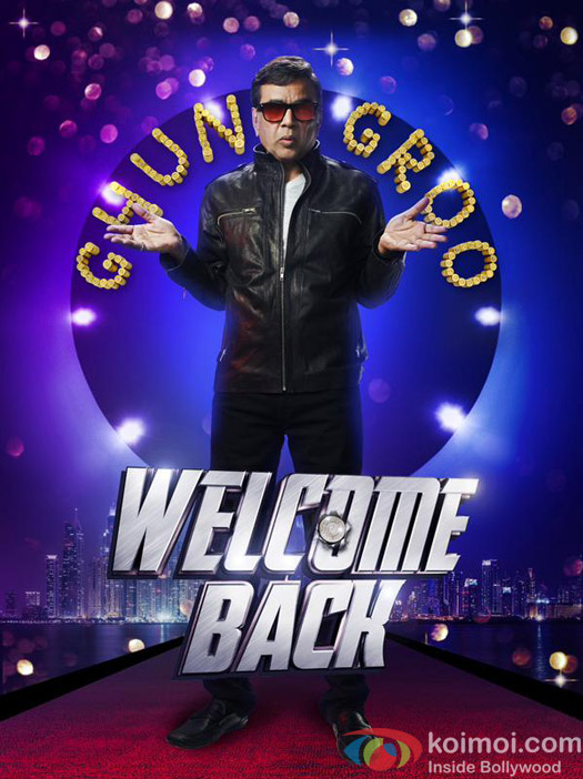 Paresh Rawal in a still from 'Welcome Back' movie poster