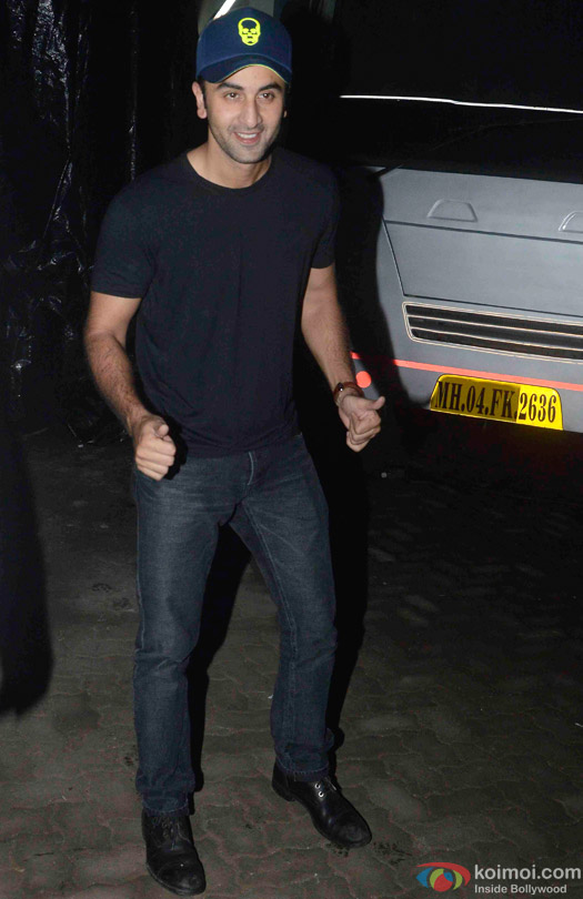 Ranbir Kapoor Snapped At Mehboob Studio