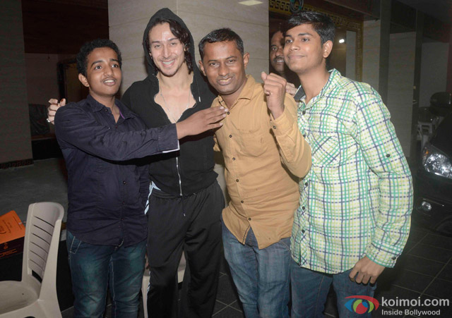 Tiger Shroff Snapped At Mehboob Studio