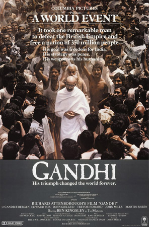 Gandhi (1982) Movie Poster
