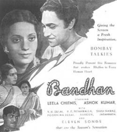 Bandhan (1940) Movie Poster