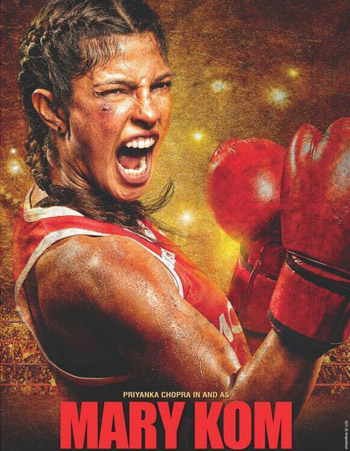 Mary Kom (2014) Poster