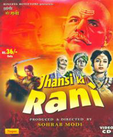 Jhansi Ki Rani (1953) Movie Poster