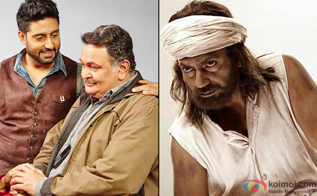 still from movie 'All Is Well' and 'Manjhi-The Mountain Man'