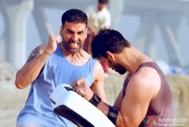 Akshay Kumar in still from movie 'Brothers'