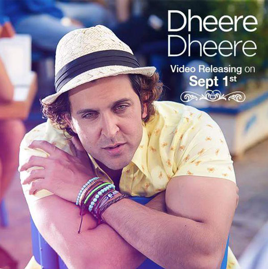 Hrthik Roshan in a still from track 'Dheere-Dheere'