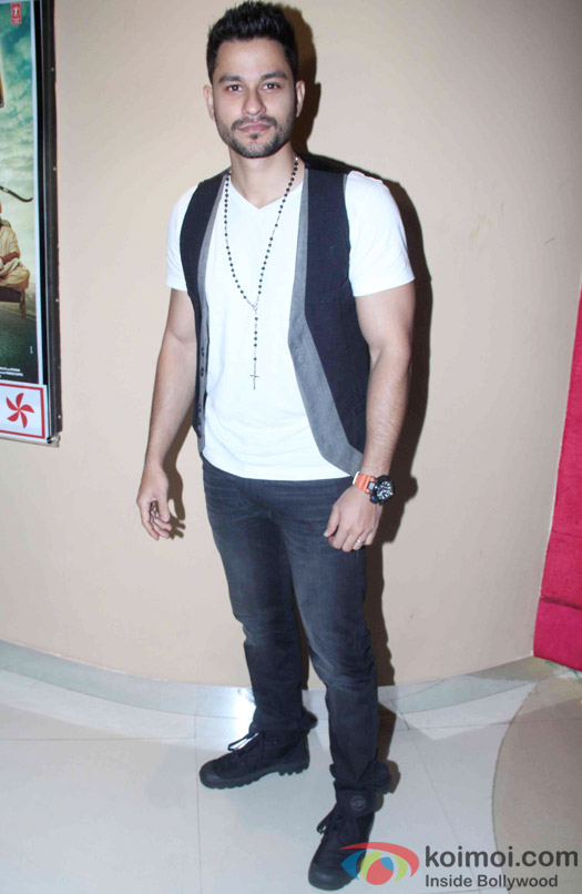 """Kunal Khemu during the trailer launch of """"Bhaag Johnny'"""