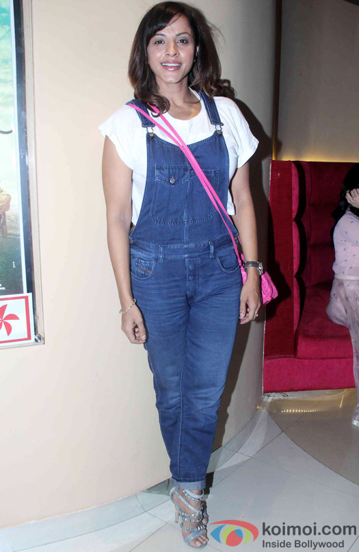 """Manasi Scott during the trailer launch of """"Bhaag Johnny'"""