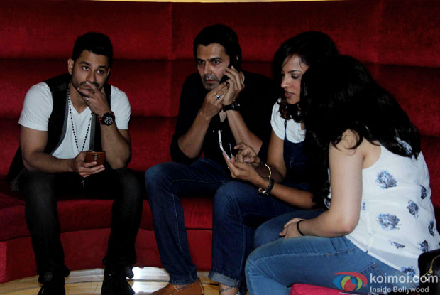 """Kunal Khemu and Aseem Merchant during the trailer launch of """"Bhaag Johnny'"""