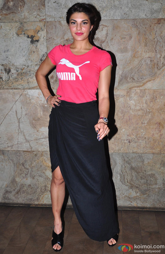 Jacqueline Fernandez at the special screening of movie 'Bangistan'