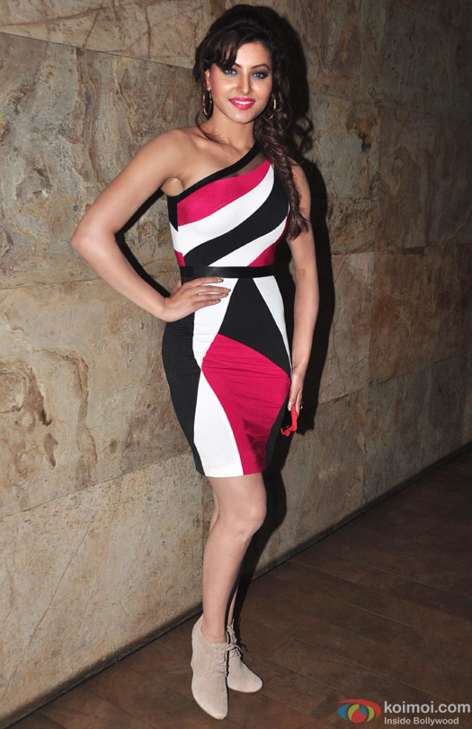 Urvashi Rautela at the special screening of movie 'Bangistan'