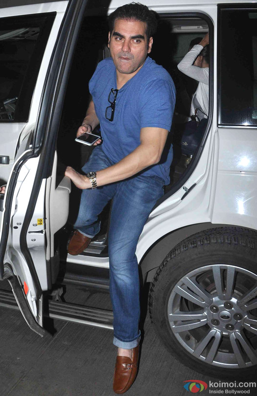 Arbaaz Khan at the special screening of movie 'Bangistan'