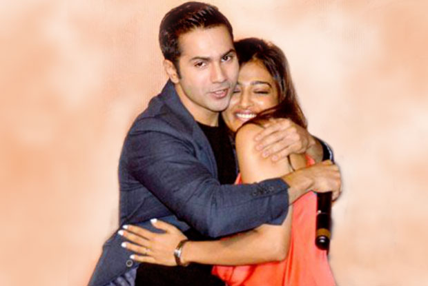 Varun Dhawan and Radhika Apte