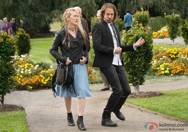 Meryl Streep in a still from movie 'Ricki And The Flash'
