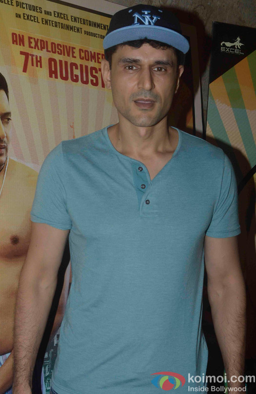 During the Screening of Movie Bangistan.
