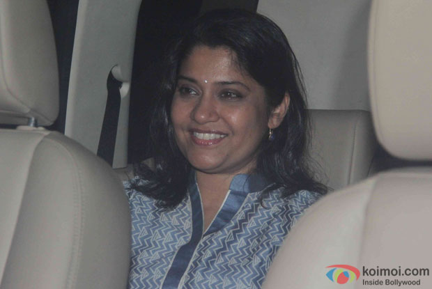 Renuka Shahane during the Screening Of the movie Brothers