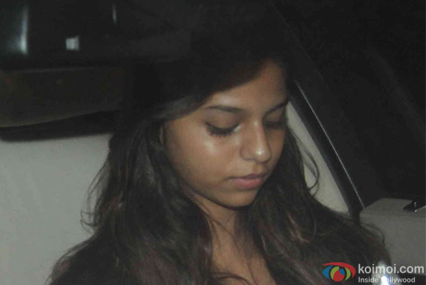 Suhana Khan during the Screening Of the movie Brothers