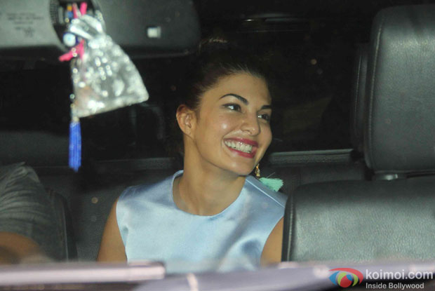 Jacqueline Fernandez during the Screening Of the movie Brothers