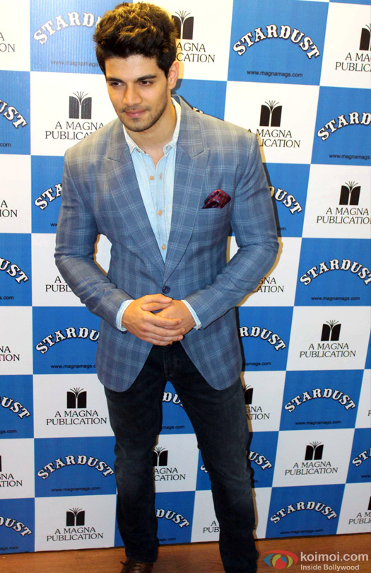 Sooraj Pancholi during the launch of Stardust Magazine's latest cover