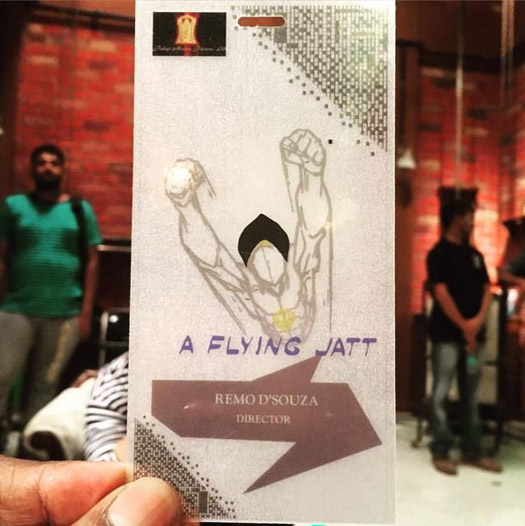 The first look of 'A Flying Jatt' revealed by director Remo D'souza
