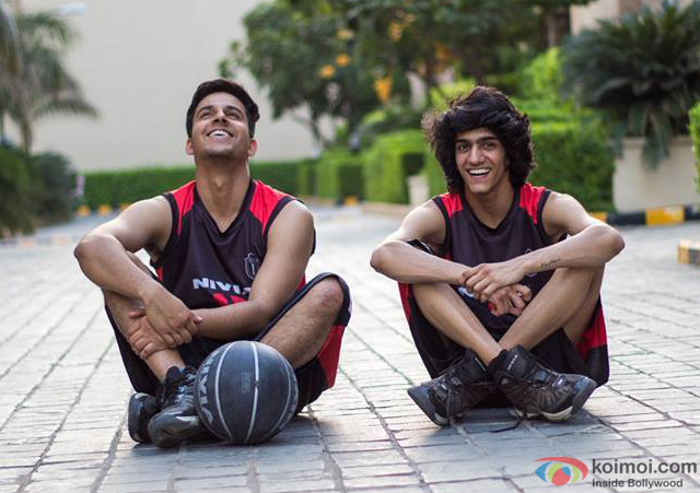 Chirag Malhotra and Pranay Pachauri in a still from movie 'Time Out'
