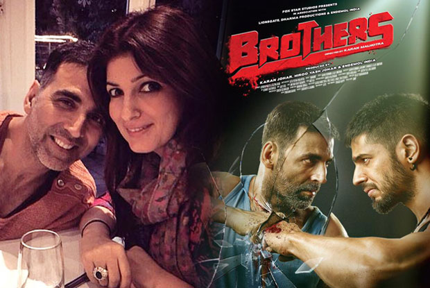Twinkle Khanna finds 'Brothers' 'absolutely fantastic'