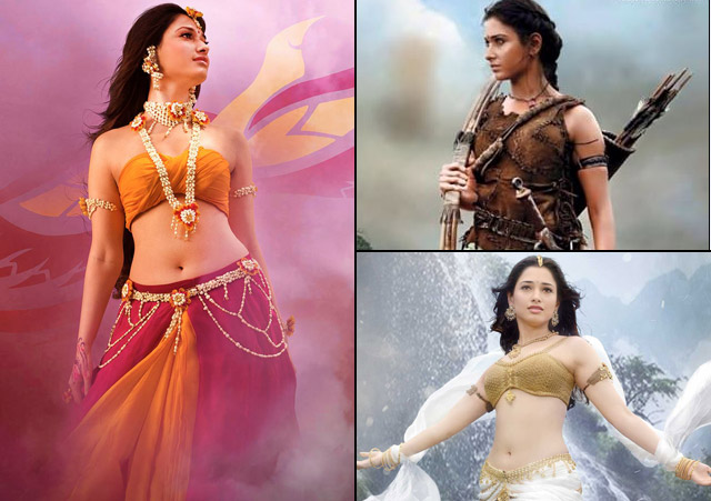 Tamannah as Avantika in Baahubali