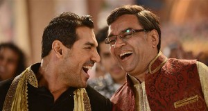 John Abraham and Paresh Rawal in 'Welcome Back' Movie Stills Pic 1