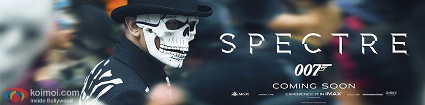 Daniel Craig in a still from 'Spectre' movie poster