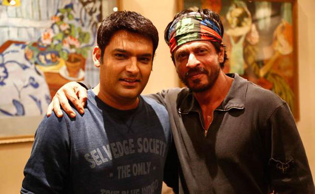 Kapil Sharma and Shah Rukh Khan