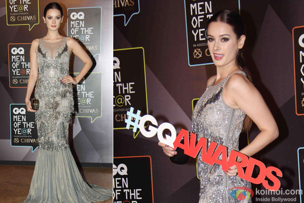 Evelyn Sharma during the GQ Men of The Year Awards 2015