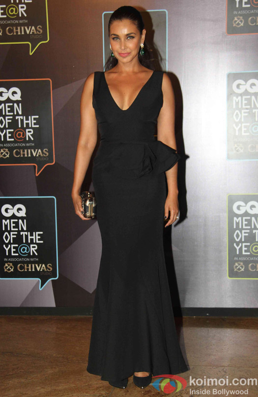 Lisa Ray during the GQ Men of The Year Awards 2015