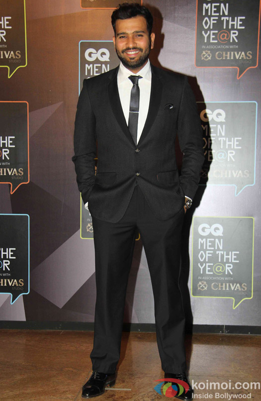 Rohit Sharma during the GQ Men of The Year Awards 2015