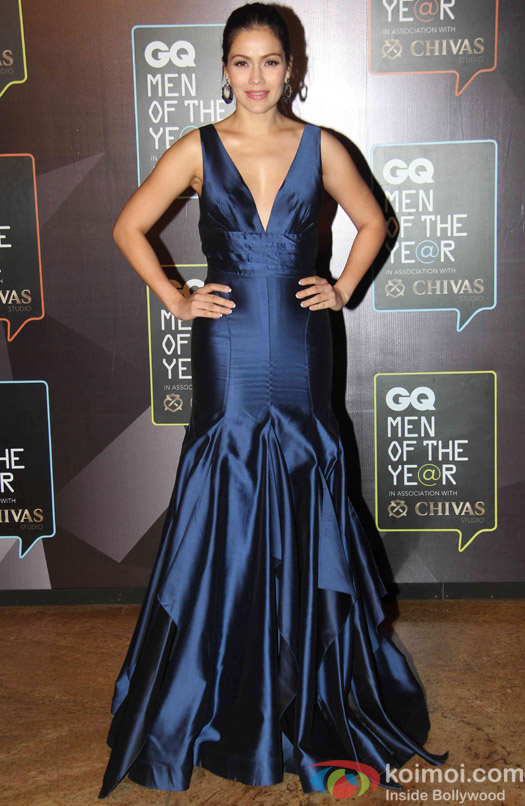 Waluscha D'Souza during the GQ Men of The Year Awards 2015