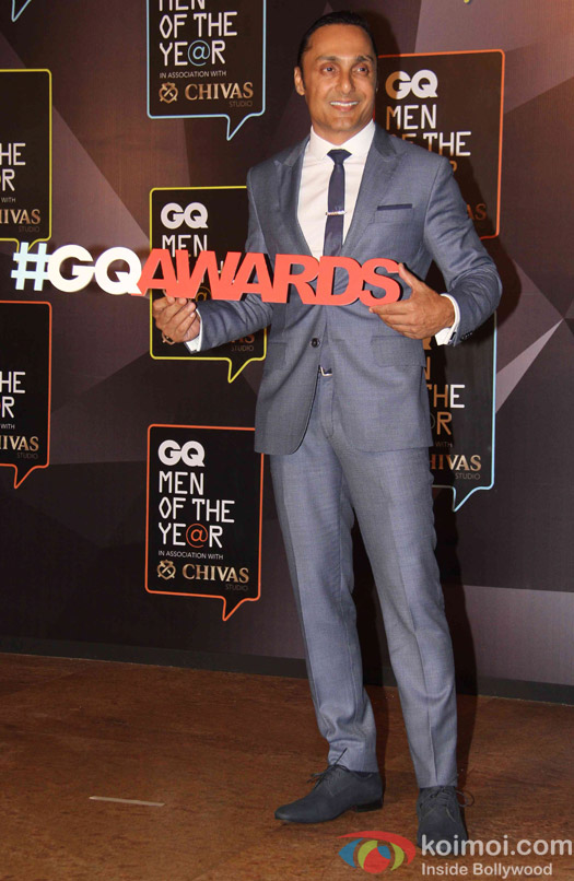 Rahul Bose during the GQ Men of The Year Awards 2015