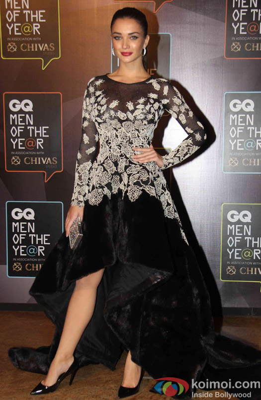 Amy Jackson during the GQ Men of The Year Awards 2015