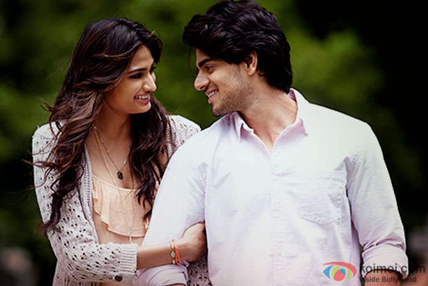 Athiya Shetty and Sooraj Pancholi in a still from movie 'Hero'