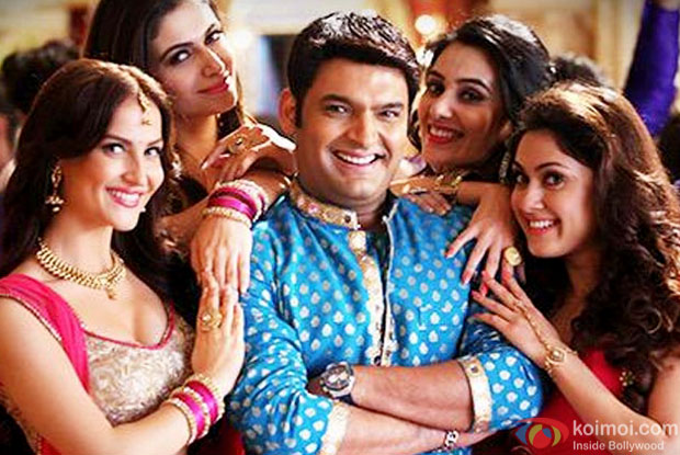 Kapil Sharma in a still from movie 'Kis Kisko Pyaar Karoon'