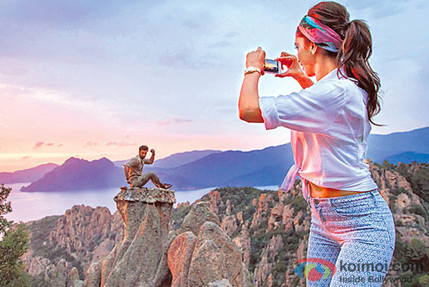 Ranbir Kapoor and Deepika Padukone in still from Tamasha