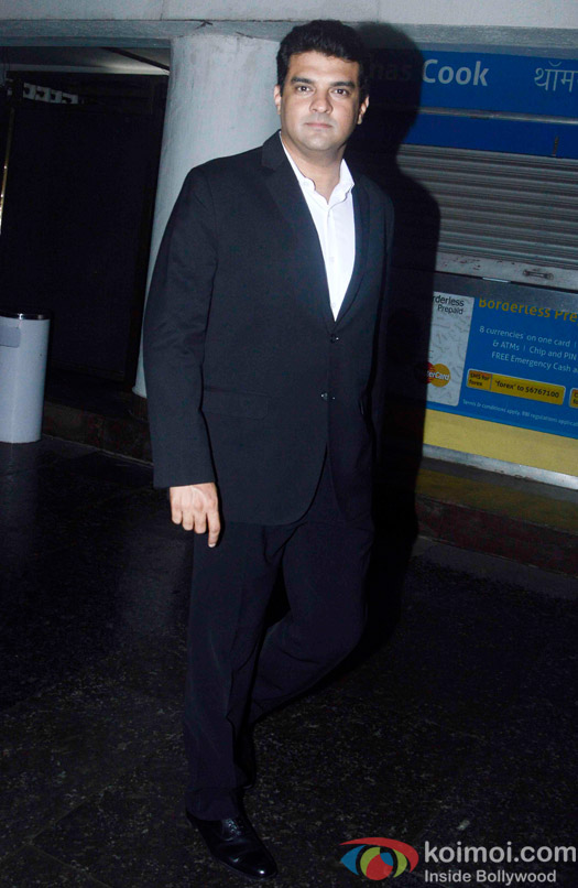 Siddharth Roy Kapoor during the special screening of hero